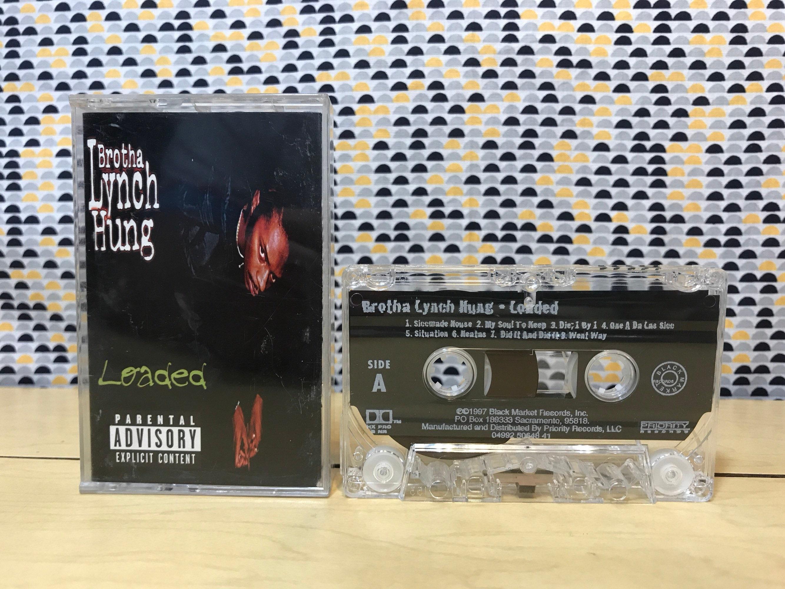 Brotha Lynch Hung - Loaded - Cassette tape - 1997 Black