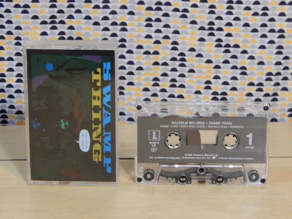 Malcolm McLaren Swamp Thing Cette tape