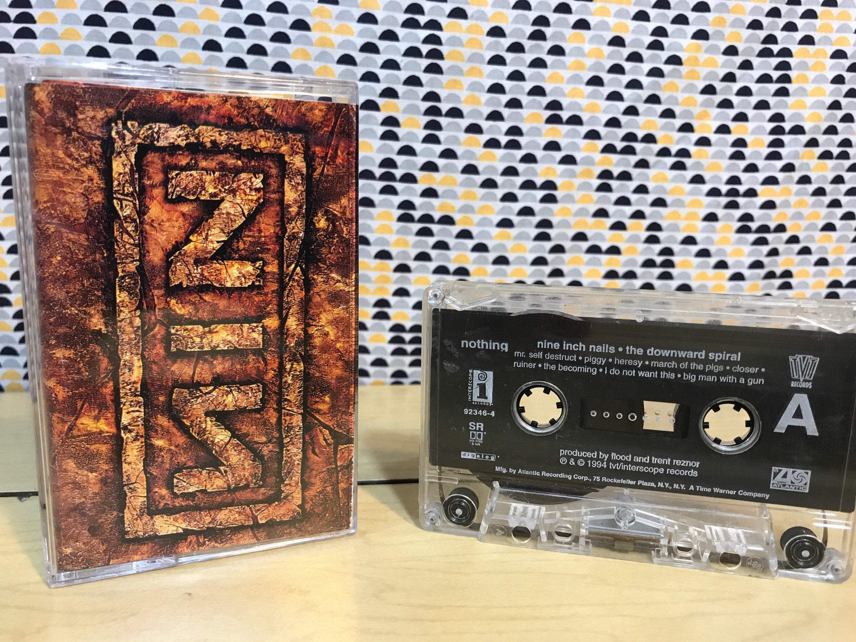Nine Inch Nails the Downward Spiral Cassette tape 1994