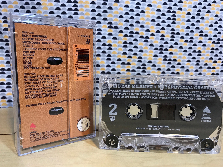 The Dead Milkmen - Metaphysical Graffiti - Cassette Tape - 1990 ...
