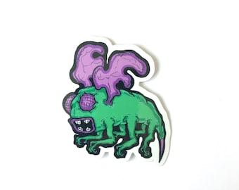 Grumblee Sticker