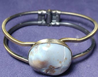Purple Chalcedony Bracelet