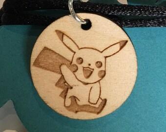 Pokemon Necklaces - Pikachu, Bulbasaur, Charmander, Squirtle, or Poke Ball