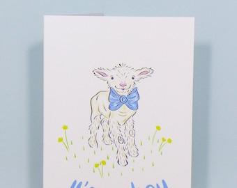 It's a Boy, Greetings Card. Free UK shipping