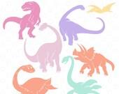 Dinosaur Cut File Bundle,...