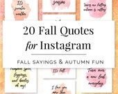 Fall Quotes for Instagram, Instagram Story Quotes, Hand Lettering Inspirational Quotes, Autumn Instagram Quotes Fall, Pinterest Quotes
