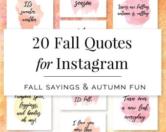 fall quotes for instagram