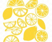 Lemon SVG Bundle, Lemon C...