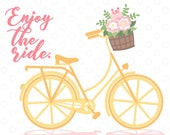 Enjoy The Ride SVG file, ...