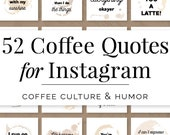 Coffee Quotes for Instagram, Coffee Quotes for Social Media, Coffee Shop Branding, Coffee Lover, Coffee Quotes, Coffee Instagram, Coffee