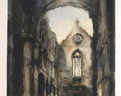 Stone and sunlight (Jedburgh Abbey) - LIMITED