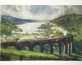 Glenfinnan - LIMITED | scottish highlands harry potter viadukt hogwarts express train