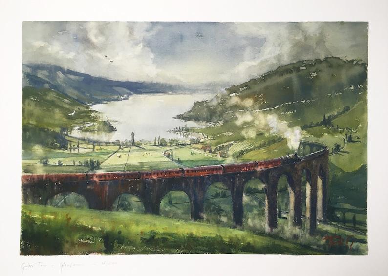 Glenfinnan  LIMITED  scottish highlands harry potter viadukt image 0