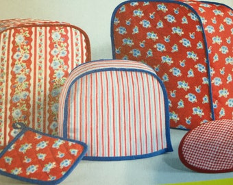 handcraft mixer cover, handcraft sewn mixer ot toaster cover for kitchen appliances, mixer toaster covers