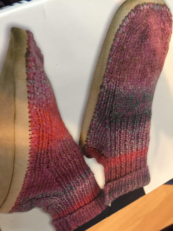 Handarbeit gehäkelte Wildleder gefesselt Stiefel Hausschuhe | Etsy