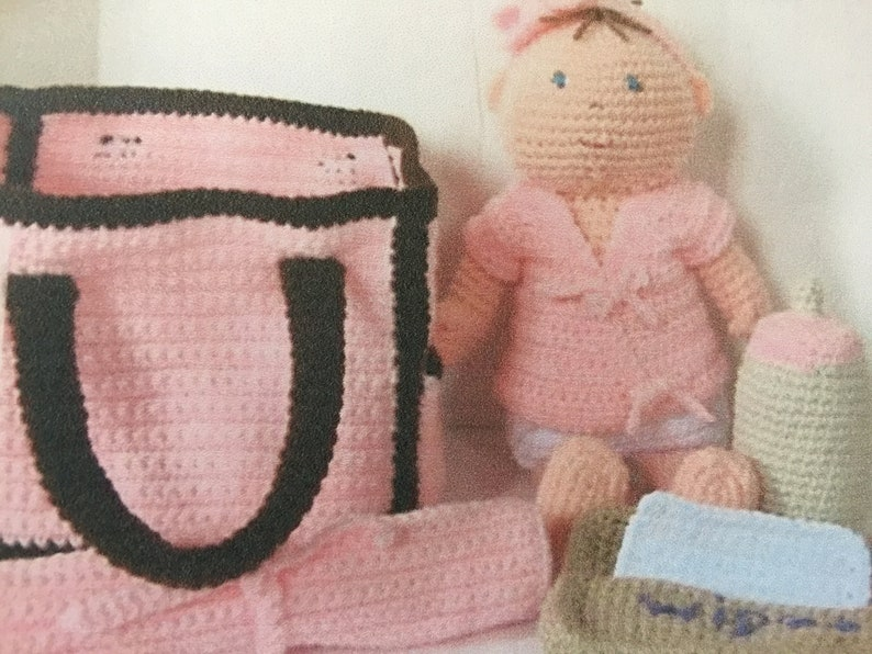 baby doll with clothes 15 inches tall full crocheted baby doll playtime baby doll pink baby crochet doll with clothes