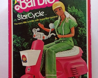 1978 Barbie StarCycle Scooter Mattel #2149