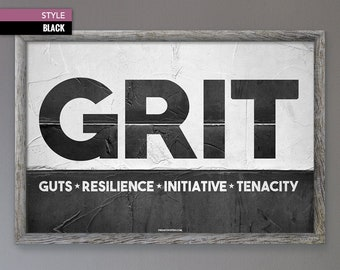 Grit quote   Etsy