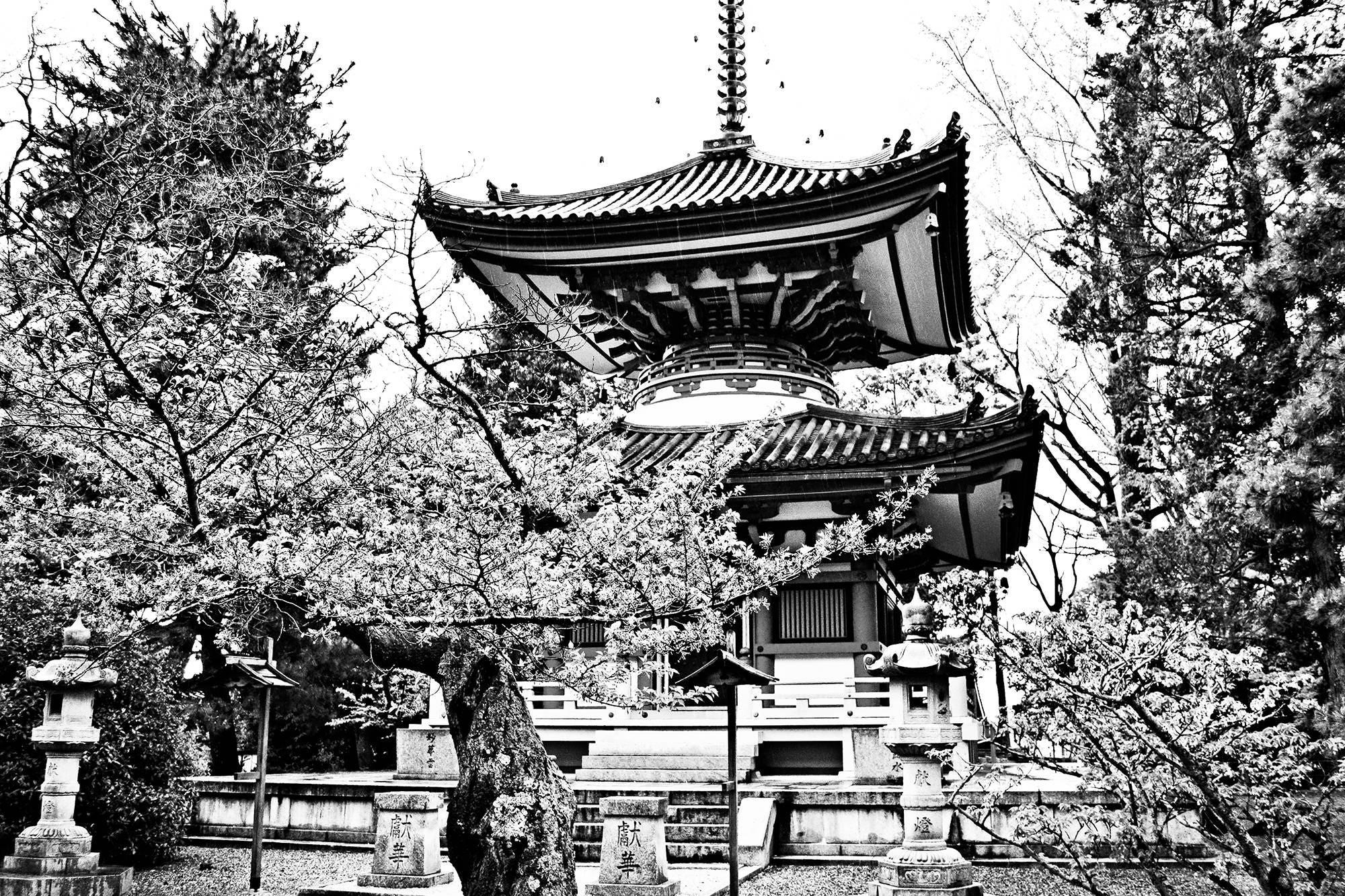Photography print kyoto japan black and white buddha buddhist temple shrine japanese photography nippon travel tokyo asia