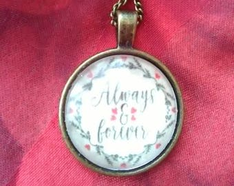 Always and Forever necklace