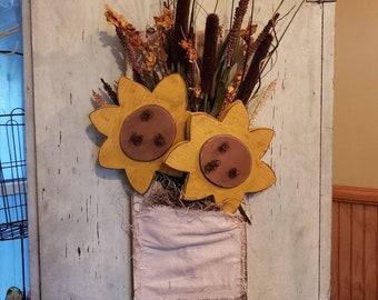 Hanging Sunflowers