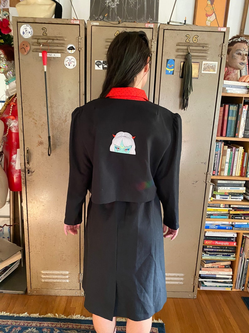 moon power dress and jacket