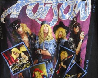 Vintage Poison 'Open up and say ah' tee.