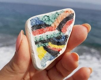 Sea Pottery, Genuine Ionian Sea Pottery, Ionian Sea Pottery, Sea Beach Pottery, I-170