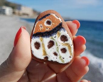 Sea Pottery, Genuine Ionian Sea Pottery, Ionian Sea Pottery, Sea Beach Pottery, I-198