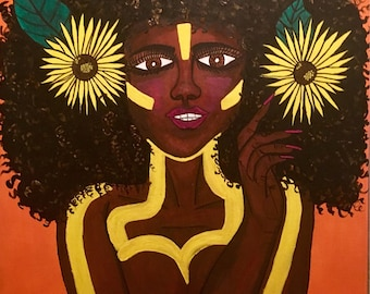 Tribal Goddess.