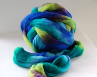 INPRINT SEALIFE - Austral merino wool - 21 mic Merino - co.no 3530 multicoloured