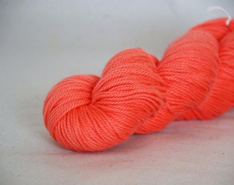 APRICOT BLUSH ~ ARAN Pure natural Cotton yarn ~ co.no 30