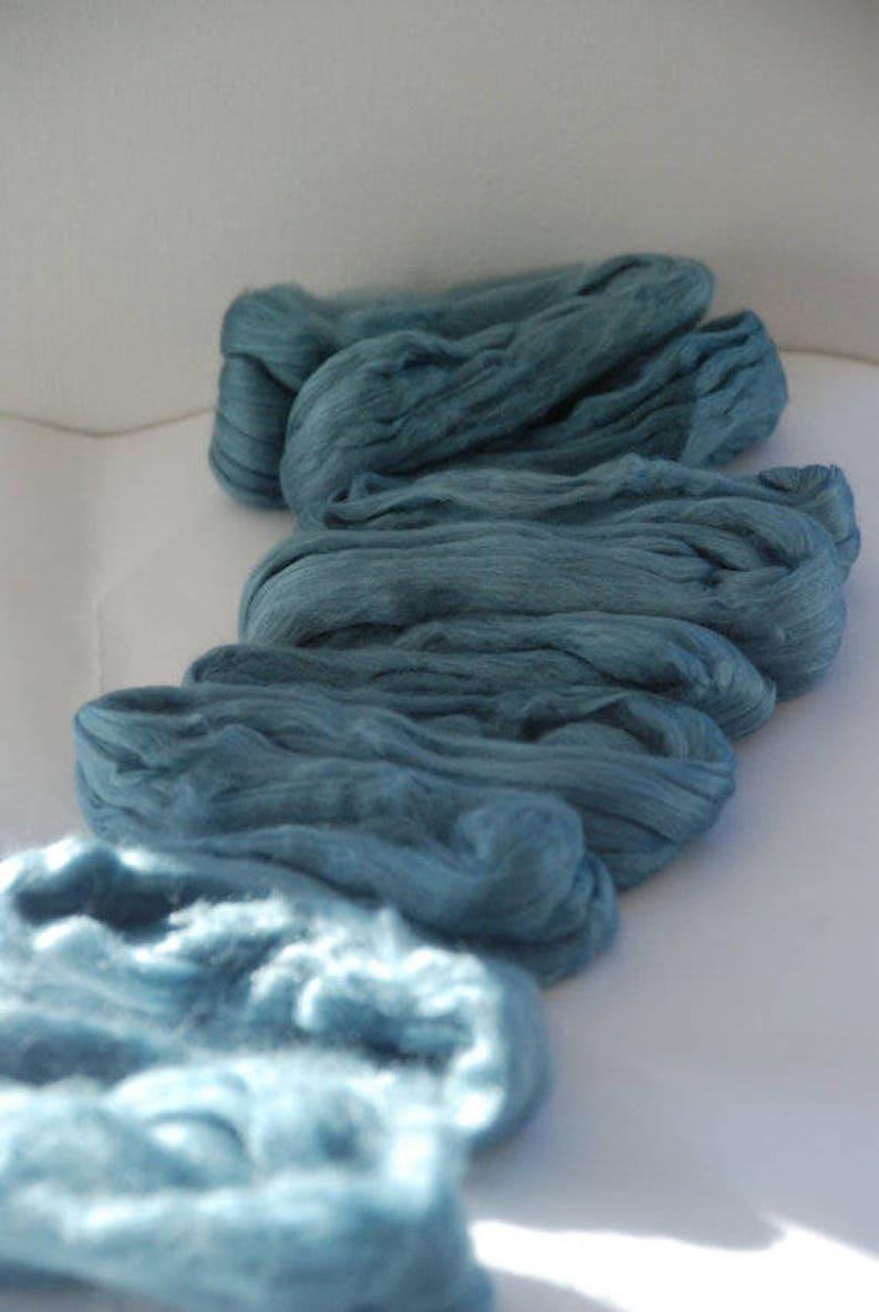 CADILLAC ~ Blue Green Merino Silk ~ Colour no 709