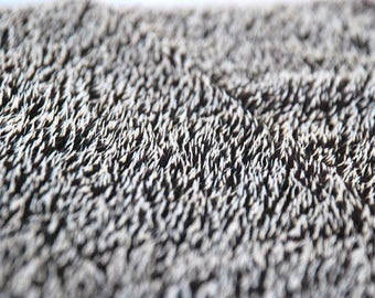 HEDGEHOG FABRIC available in long and short quills -Mohair natural fabric