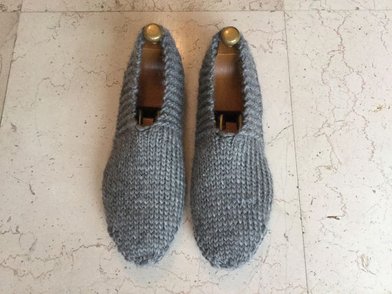 d42e9be0278 Man slippers virgin wool slippers travel slippers hand