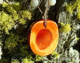 Handmade Redwood Pendant - Free Shipping!!