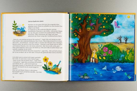 Personalisierte Kinderbibel Zur Taufe Taufbibel Geschenk Zur Taufe