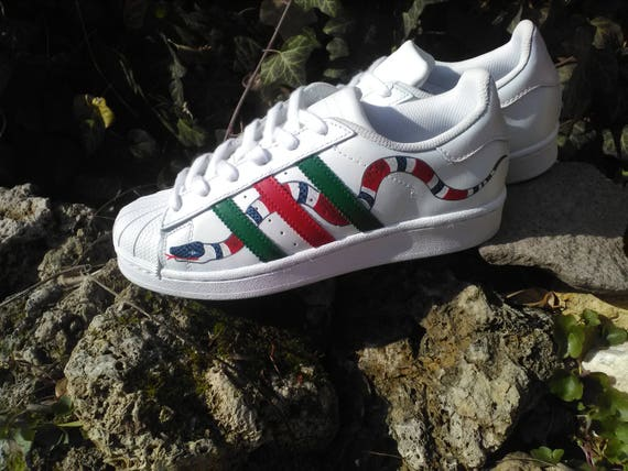 Shop adidas Superstar Kids White Silver Sparkle online