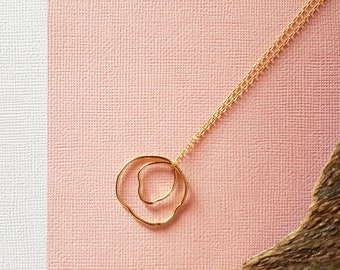SOURCE necklace gold plated