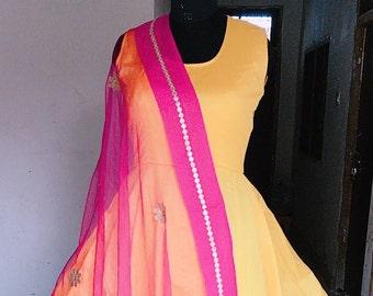 Indian Ethnic Wear, Suit,Anarkali Suit
