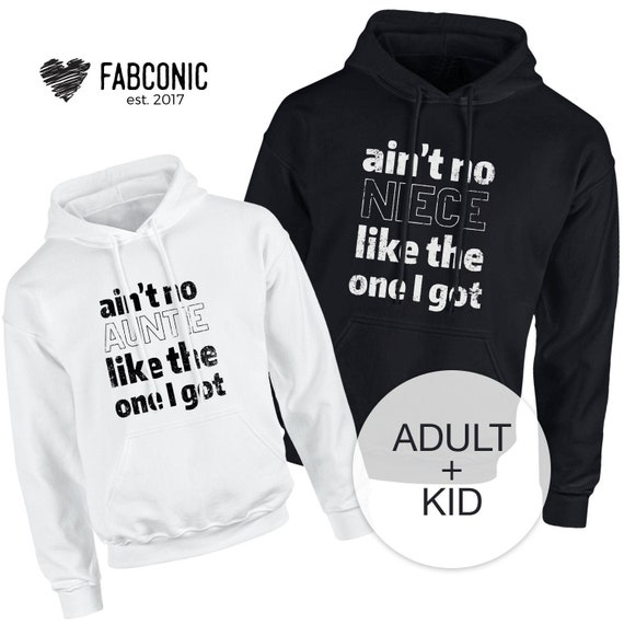 Hoodie Top Custom Text This Awesome Aunt Belongs To Personalised Aunt Hoodie