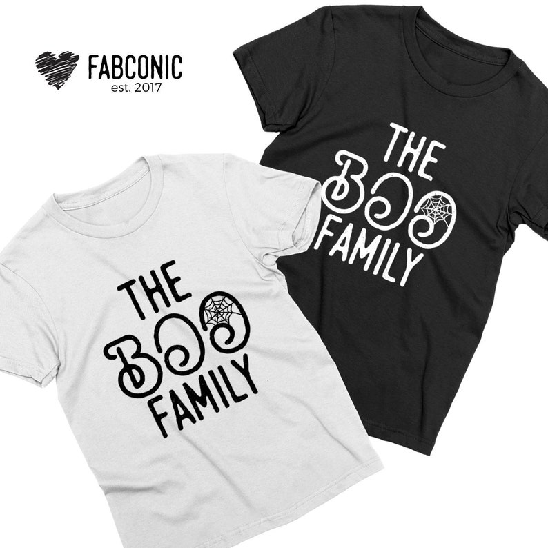 d4bf3715 Halloween Matching Family Shirts ghosts halloween mom dad kids The Boo Crew