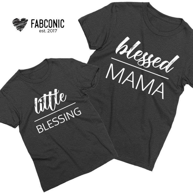 a5e8a7aa128 Blessed mama Blessed Mama shirt Little Blessing Shirt Mom