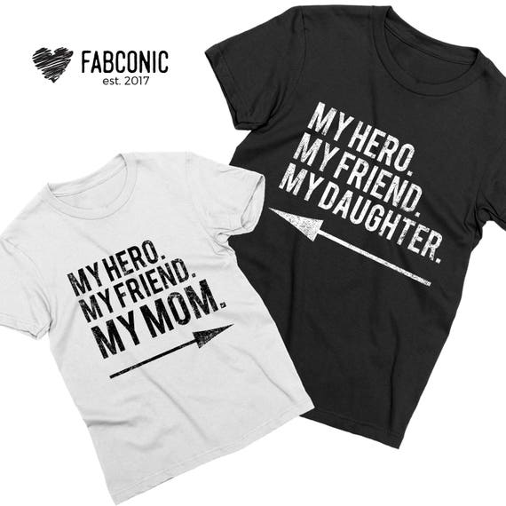 f5fa58ff Mommy daughter shirts