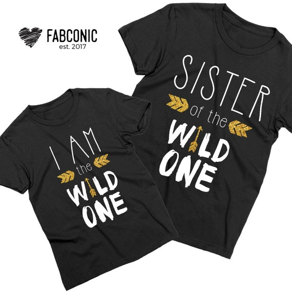 90f54040 Sister of the Wild One Sister Shirts Sister Gift Sister | Etsy