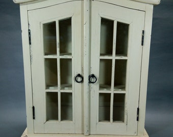 Wall Curio Cabinet Etsy