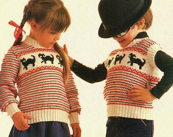 6f4678ed7 Childrens Intarsia Sweater And Vest