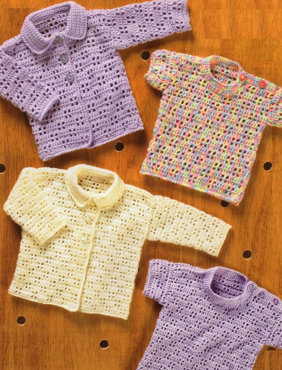 752c665662d1 Baby   Toddler Cardigans and Sweaters Crochet Pattern
