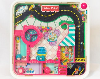 Vintage Fisher Price Magnetic Shopping Mall