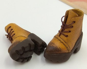 Blythe Momoko DAL Pullip Boots Shoes (Doll Shoes 29-036) / FREE SHIPPING /